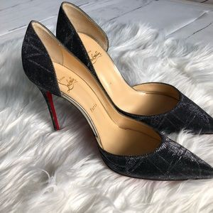 Beautiful Christian Louboutin Sparkle Heels Sz40